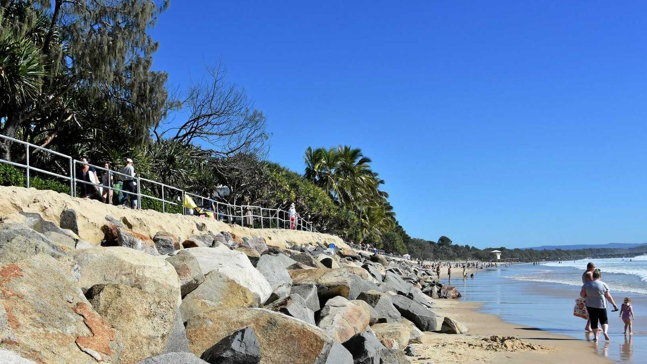 Noosa's coastal properties are at risk from storm surges.