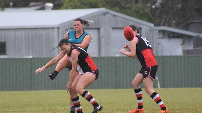 Breakers women run riot in huge victory over Saints