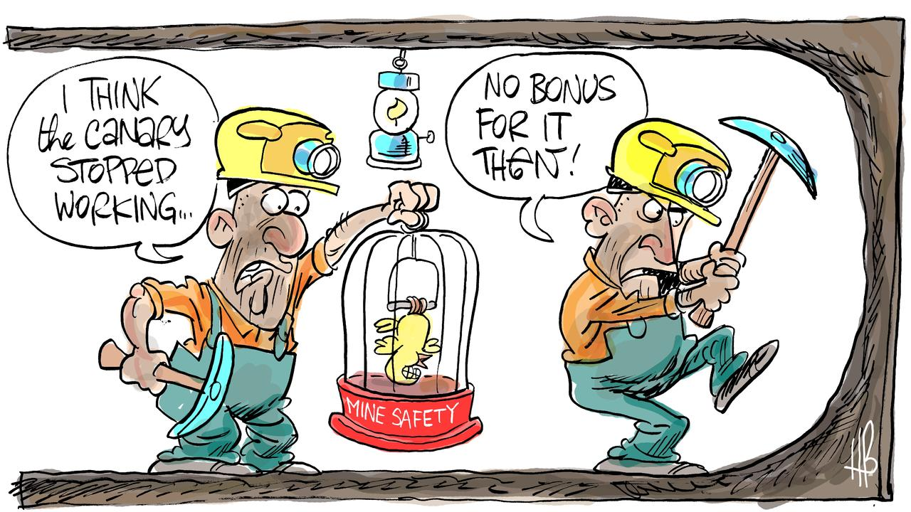 Harry Bruce's take on the 'she'll be right, mate' safety culture at mine sites.