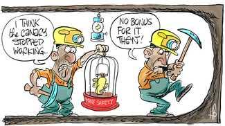 Coal bonuses breed 'she'll be right' attitude to safety
