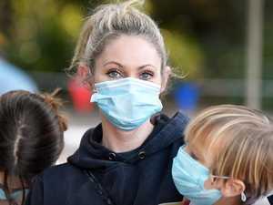'I hope it's the flu': Mum's COVID fears for kids