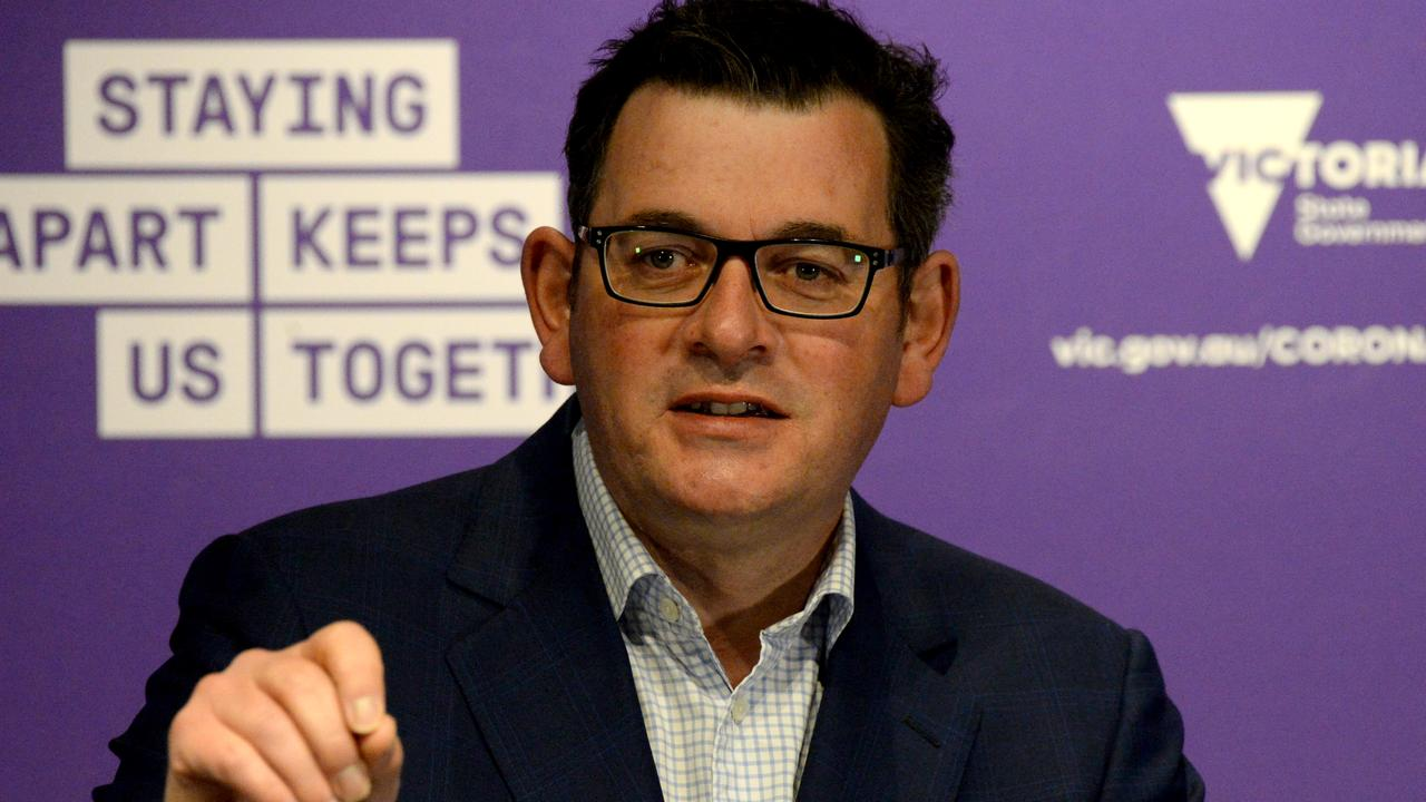 """The political blame game over Victoria's bungled hotel quarantine has intensified with Dan Andrews accusing the Defence Minister of """"playing politics""""."""