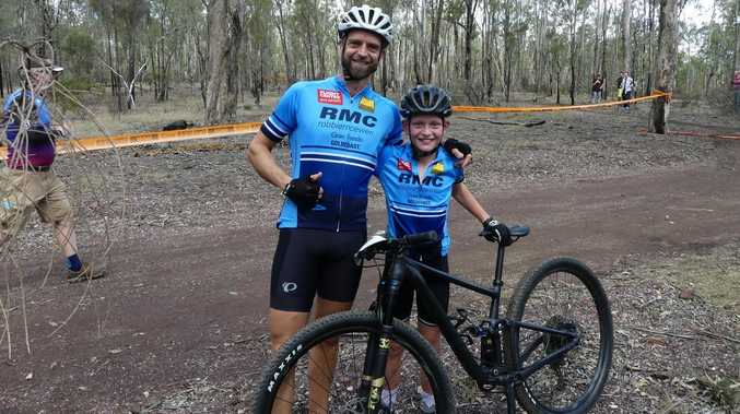 Love at first ride: Adventure family built on biking