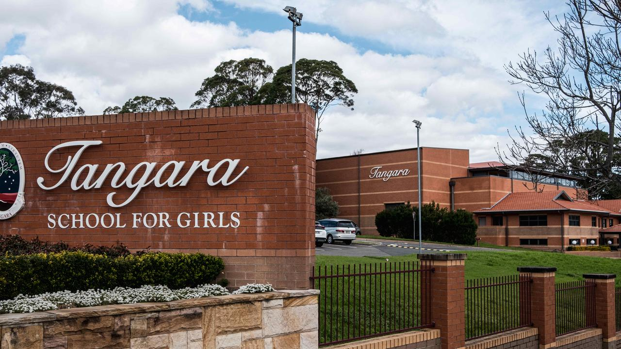 Cherrybrook's Tangara School for Girls has been linked to 17 coronavirus cases among staff and students. Picture: NCA NewsWire/Flavio Brancaleone
