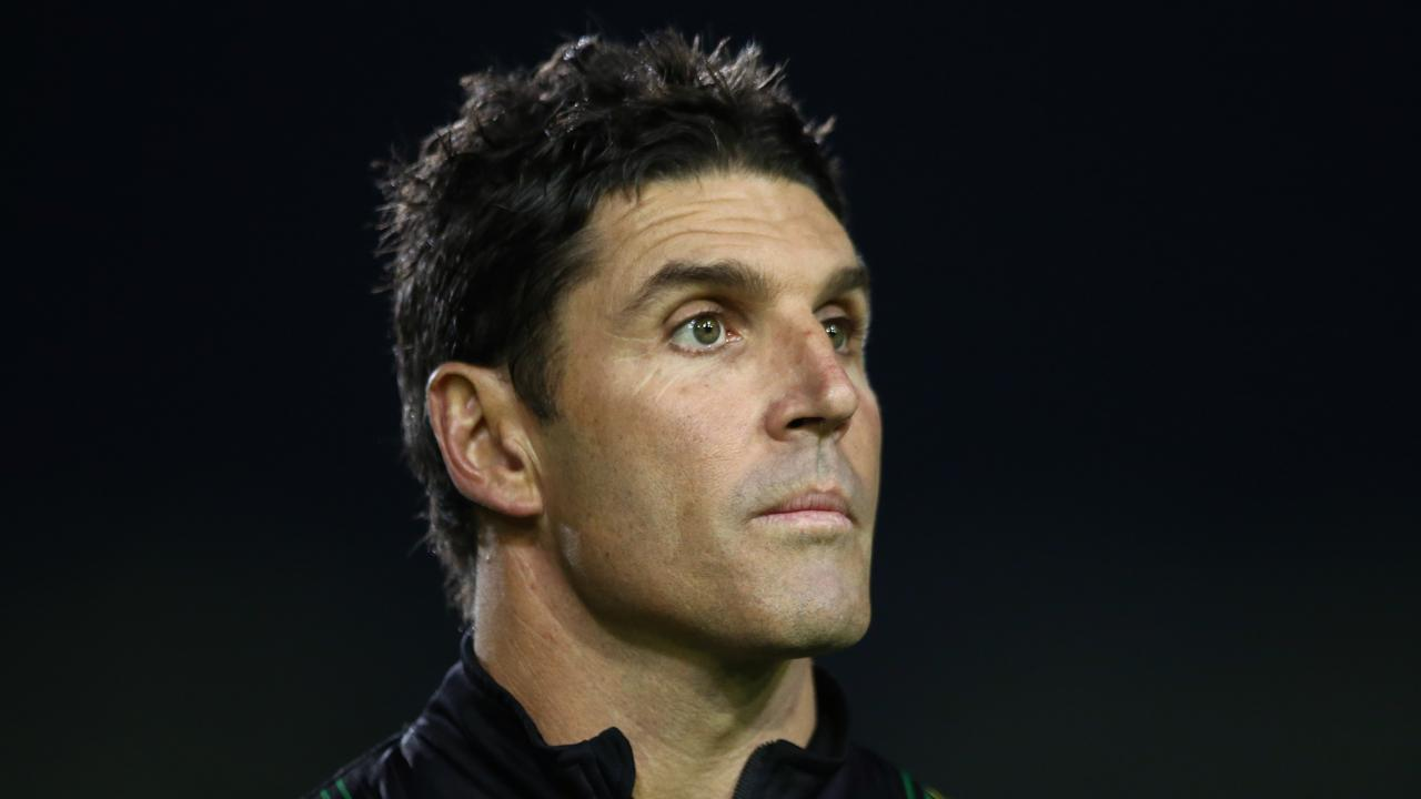 Trent Barrett will bring his own coaching staff to Belmore next year. Picture: Getty Images