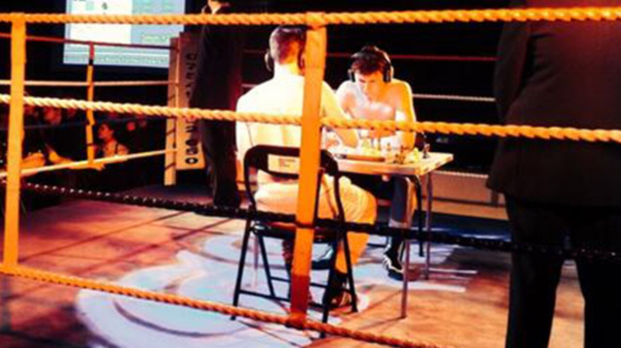 Chessboxing may sound like a strange combination, but not to these guys.