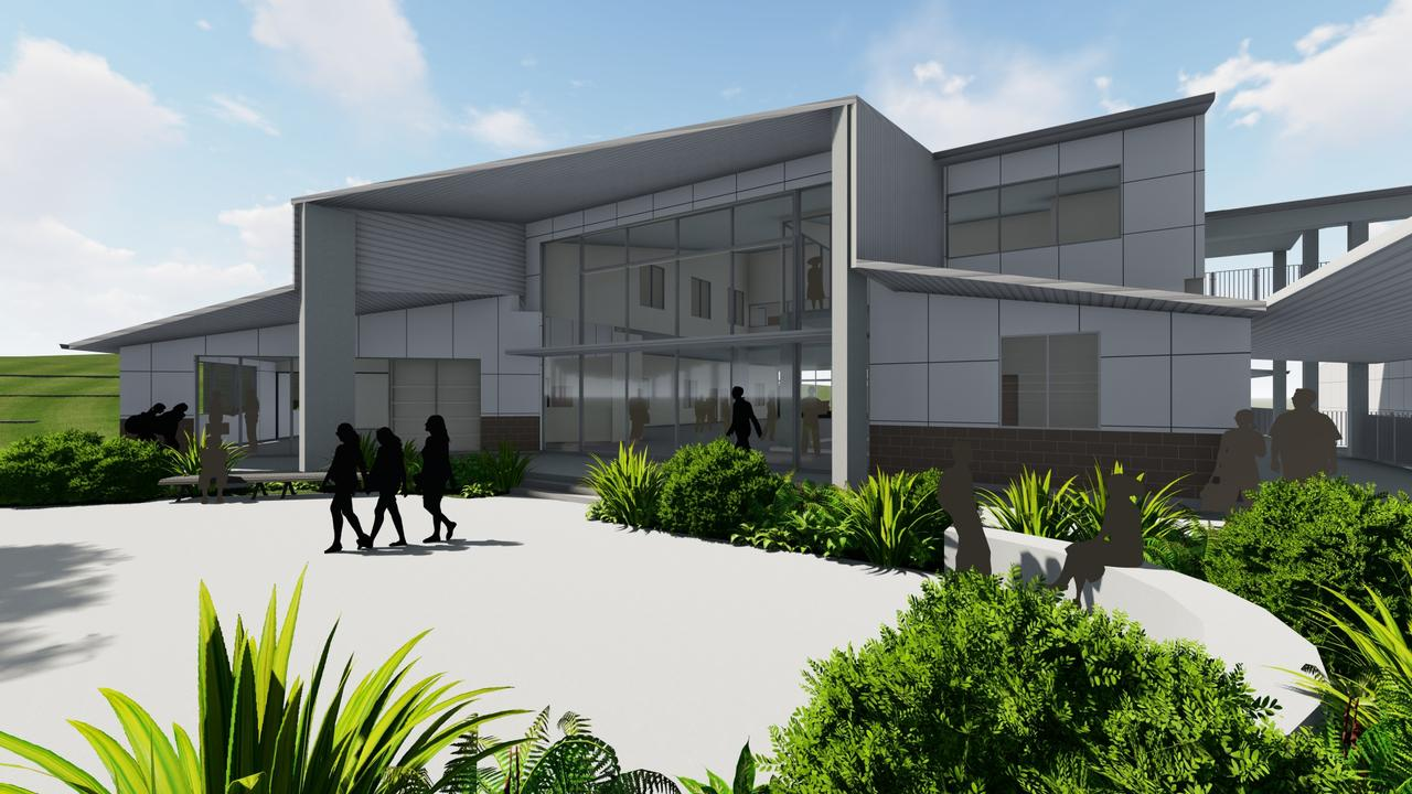 Concept image of stage two of Ripley Valley State Secondary College.