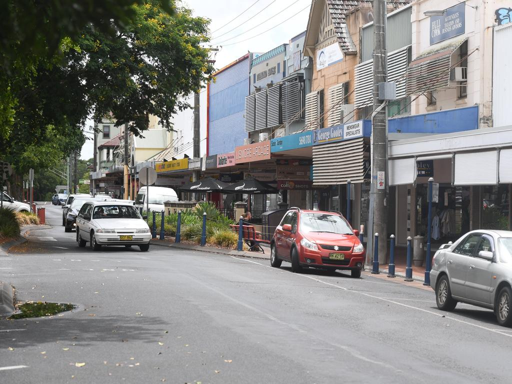 Lismore CBD is set for a $250,000 grant. Photo: Marc Stapelberg