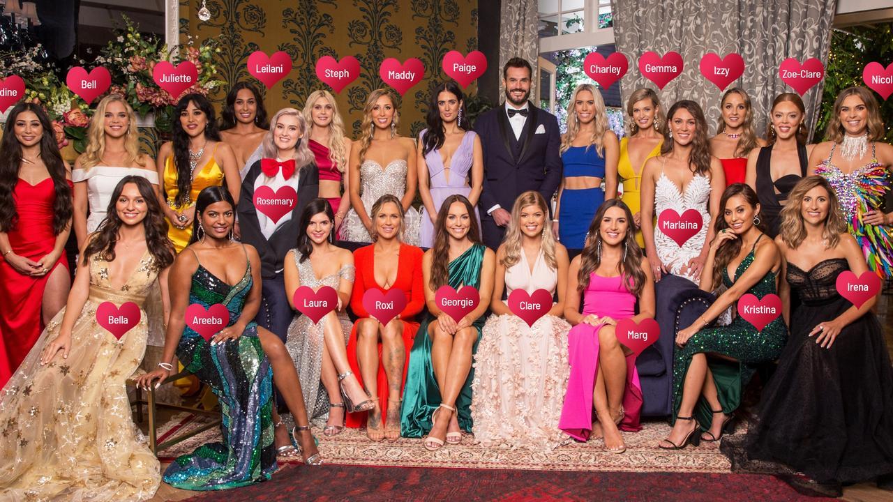 The Bachelor 2020 contestants.