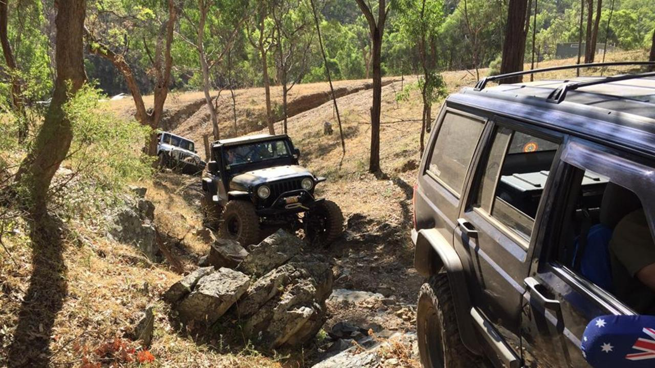 OFF-ROAD ACTION: The Brisbane Jeep Club will be bringing their cars and adventurous spirit to the Southern Downs this weekend. Picture: Brisbane Jeep Club