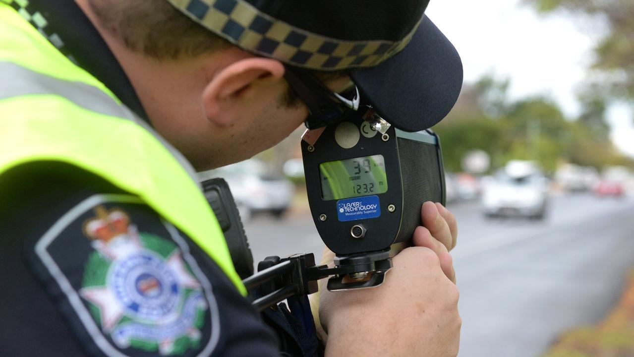 A 19-year-old was handed a $1245 fine for speeding on the Balonne Highway.