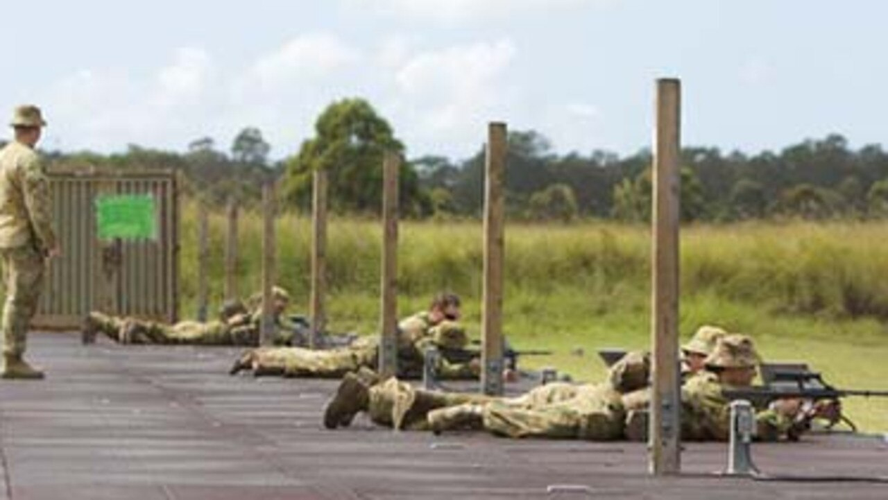 Army cadets as young as 13 years old have been told not wear their uniforms during COVID-19. Picture: ArmyCadets