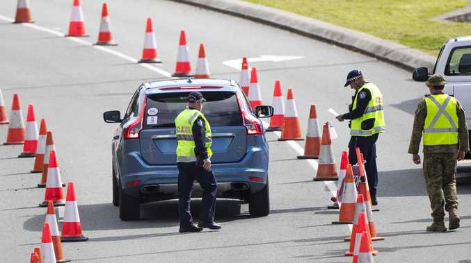 Premier begged to 'please move the border checkpoint south'