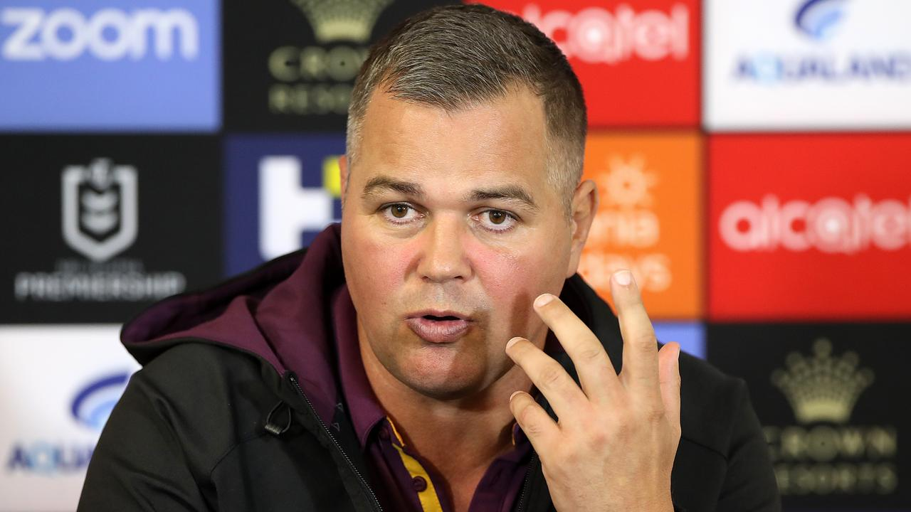 Embattled Brisbane Broncos coach Anthony Seibold has found an unlikely ally in Craig Bellamy, with the Storm boss holding grave concerns for his welfare. Photo: Mark Kolbe/Getty Images