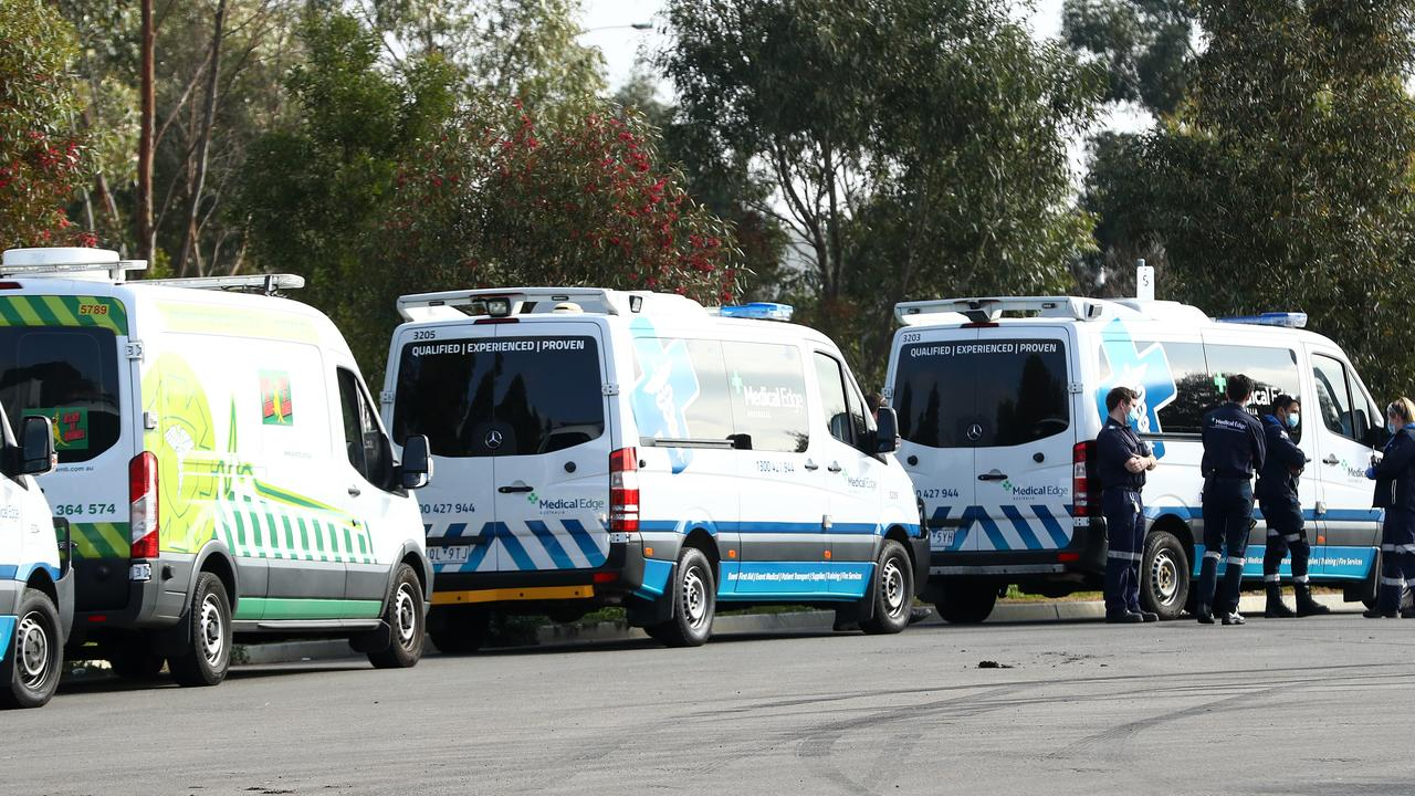 An emergency workforce was rushed in to St Basil's after all staff were deemed close contacts of COVID-19 patients. Picture: Getty Images