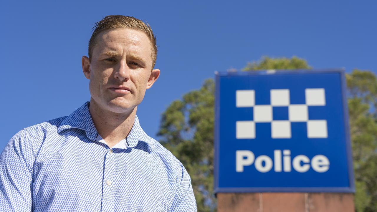 PROGRAM TERMINATED: One Nation's candidate for Rockhampton Torin O'Brien provided a free program to help Rockhampton's at-risk youth stay on the straight and narrow but his arrangement has been ended in an alleged case of political interference.