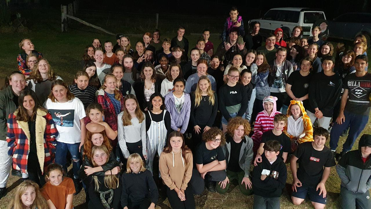 A record number of Noosa District State High School students slept outdoors to raise much needed funds for Noosa's homeless.