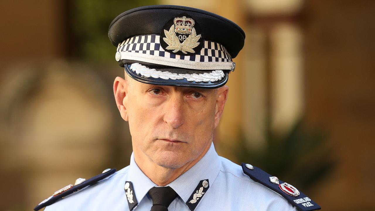 Queensland Deputy Police Commissioner Steve Gollschewski.