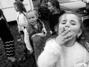 Irish 'traveller' girls stun in photo shoot