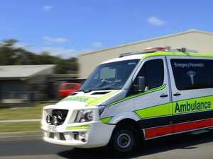 Schoolboy transported to hospital after motorcycle crash