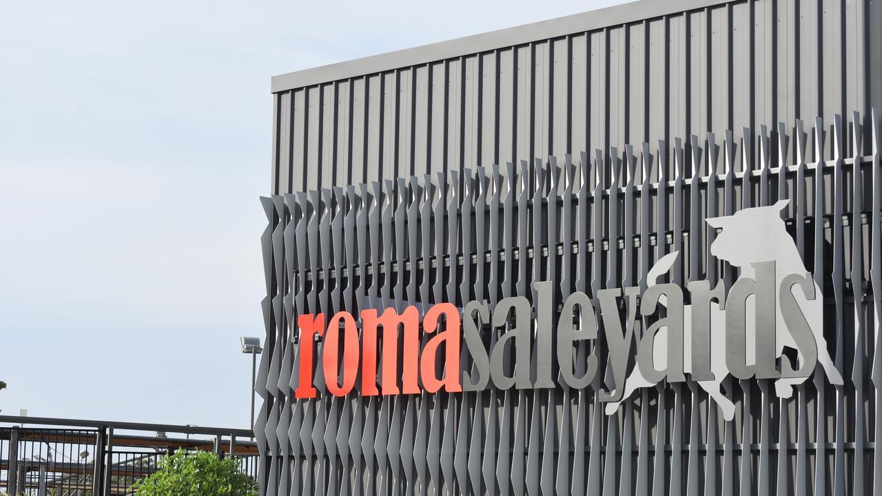 Roma Saleyards.