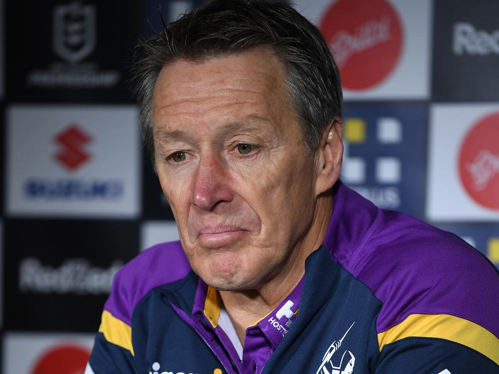 Storm coach Craig Bellamy is preparing for possibly three more home games, even finals, to be played out of Sunshine Coast Stadium however nothing has been made concrete. Photo: Joel Carrett