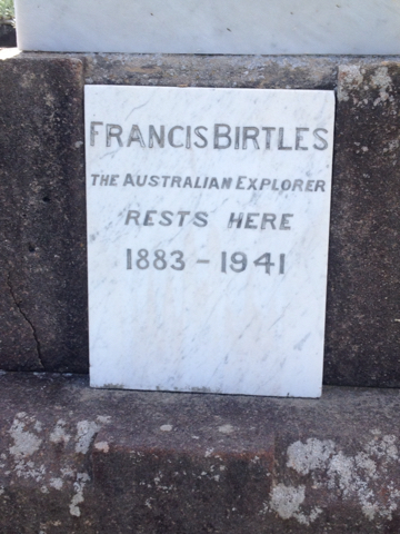 Francis Birtles' final resting place in Waverley cemetery. Photo: Findagrave
