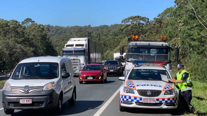 One killed, traffic blocked after serious Bruce Hwy rollover