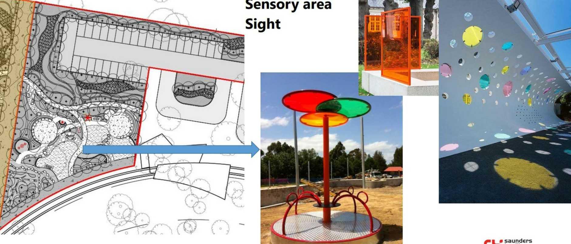 Designs for the Lockyer Valley regional playground at Hatton Vale.