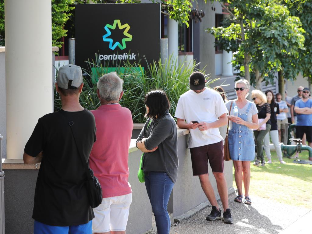 More than 1.5 million Australians are on JobSeeker. Picture Glenn Hampson
