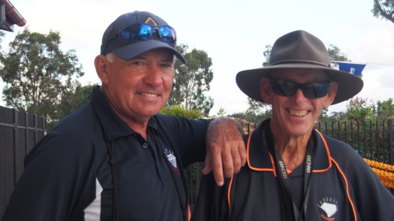 Master coaches Brian Stehr and Peter Diamond.