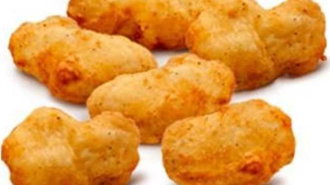 Argument with kids over chicken nuggets leads to DV breach
