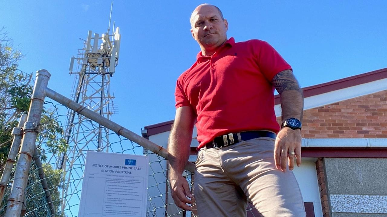 TOWER CONCERN: One Nation's candidate for Keppel Wade Rothery said he's been approached by residents concerned about a 5G tower upgrade in Yeppoon and its proximity to nearby residences.