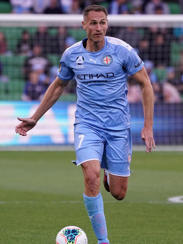 Griffiths has played 18 games for City this campaign. Picture: Getty