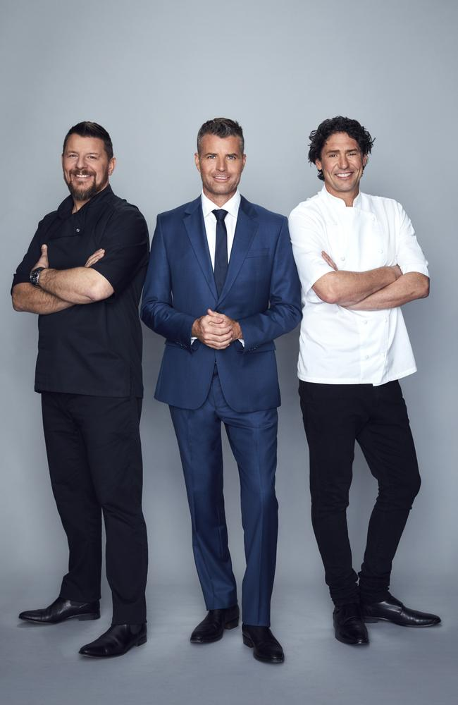 My Kitchen Rules judges Manu Feildel, Pete Evans, Colin Fassnidge