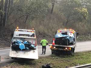 Man dies in morning highway tragedy