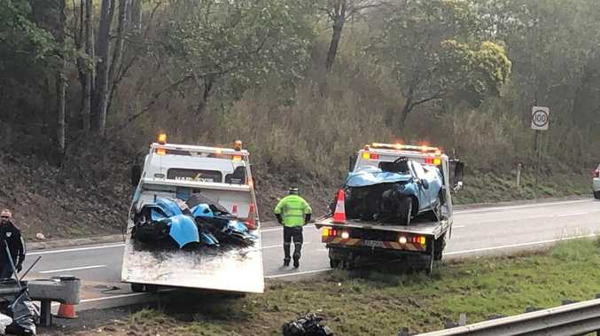 Police probe early morning highway tragedy