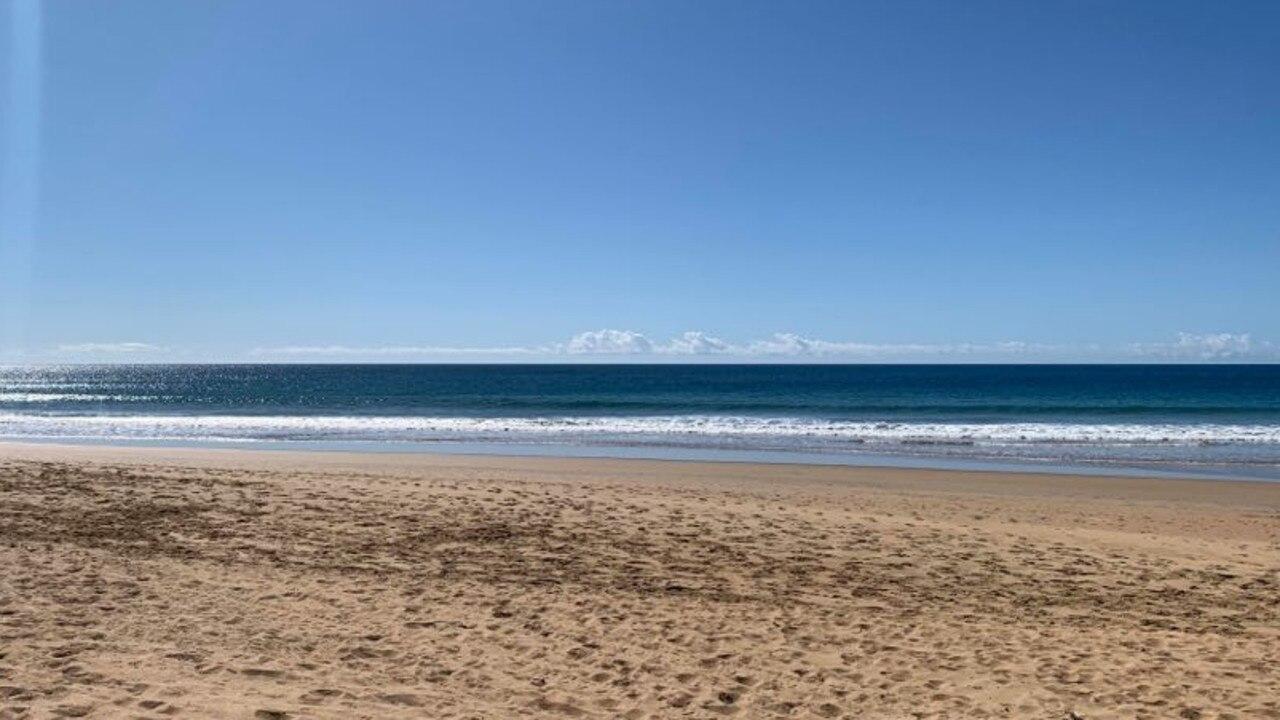 LIFE'S A BEACH: Sun shines on Kellys Beach recently.