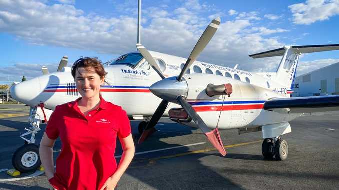 Nurse lands dream job in the skies