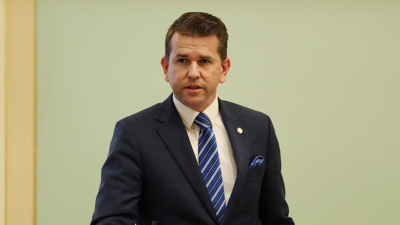 Jarrod Bleijie MP, Question Time, Parliament House, Brisbane. Photographer: Liam Kidston