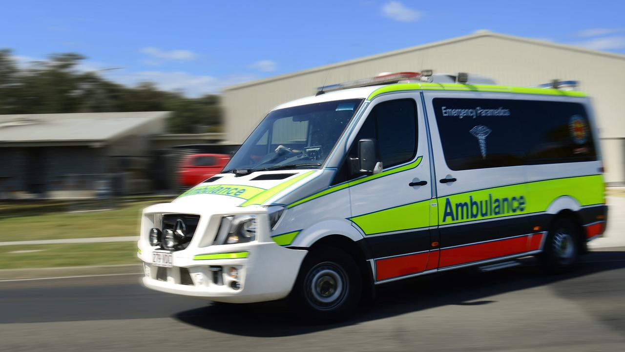 The Queensland Ambulance Service is still on the scene of a single-vehicle rollover at St Lawrence.