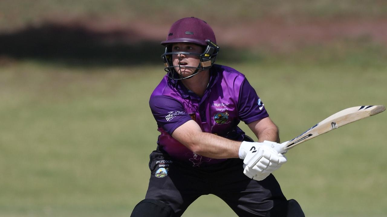 Kris Glass (in action for Livewired Lightning during last year's Darling Downs Bush Bash League) will captain the RobScan Knight Riders this season.