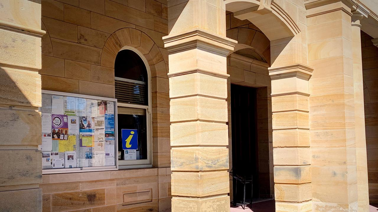 TUCKED AWAY: The Warwick Visitor Information Centre is located in a small room of the Town Hall.