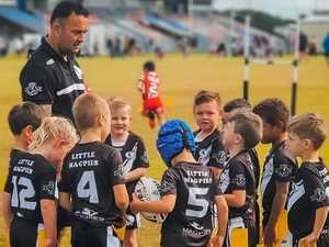 The touching tale of a coach and his young Magpies