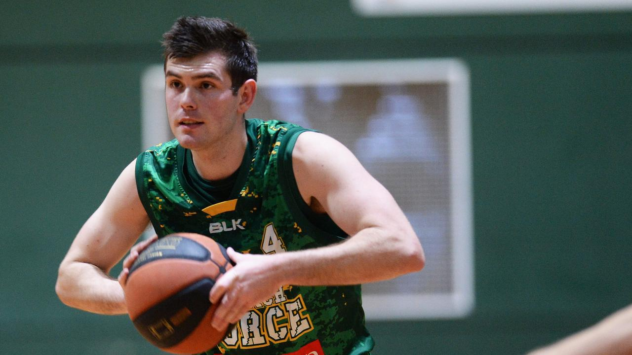 Ipswich Force captain Jason Ralph is delighted to be back on court in the exciting new Queensland State League competition. Picture: Rob Williams