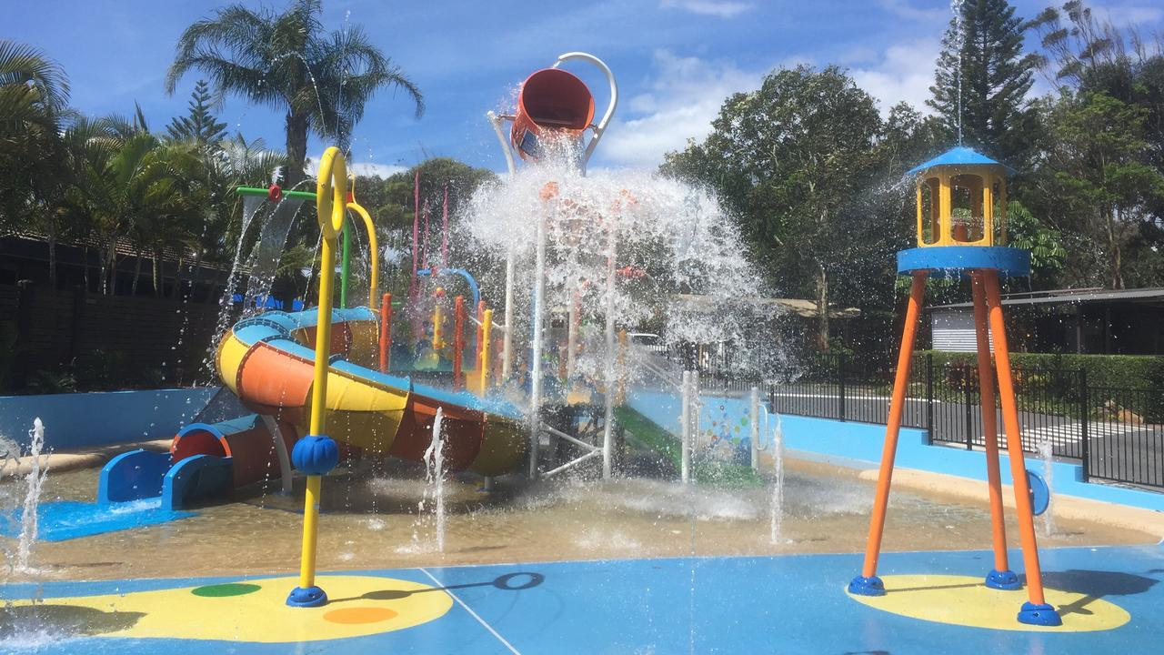 WATER WONDERLAND: The water park attracts lots of day visitors.