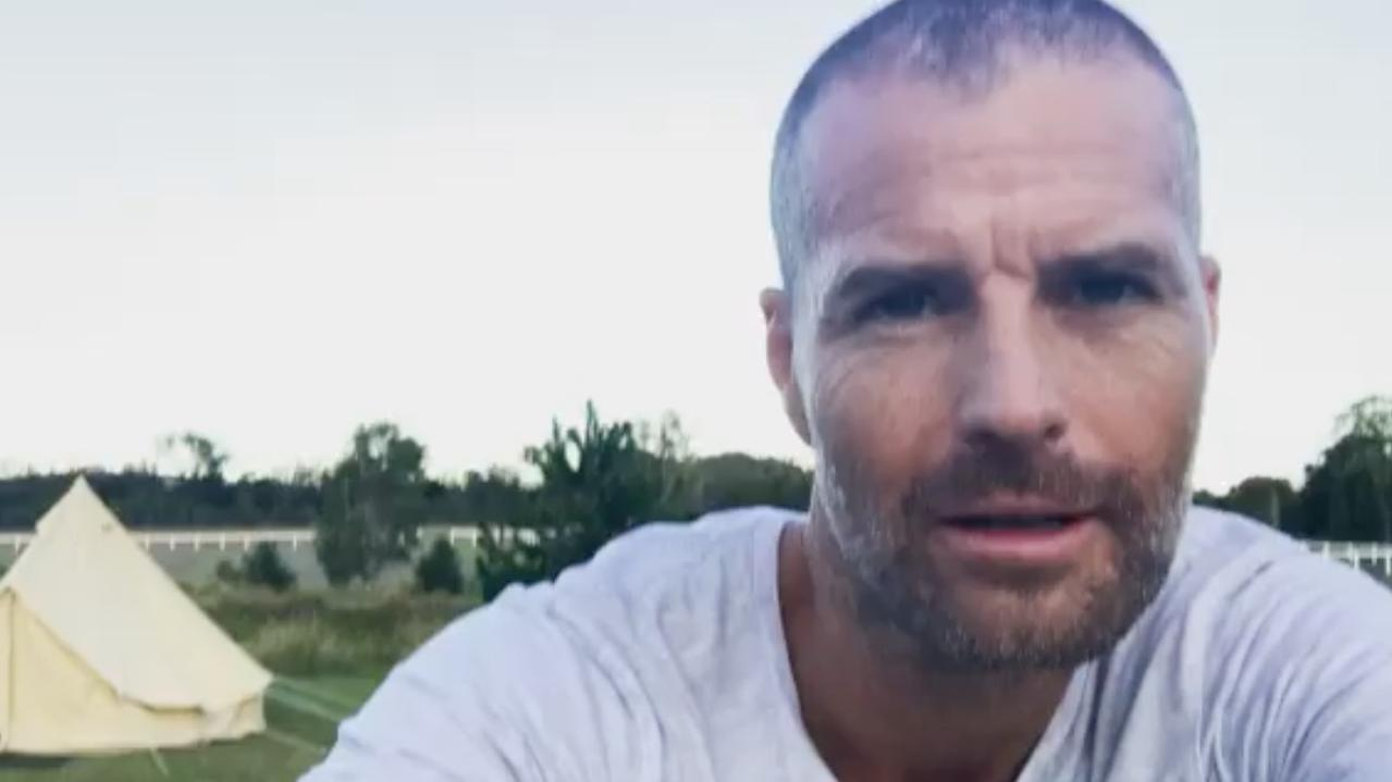 Pete Evans has taken a swipe at fellow celebrities for hiding from what they believe in. Picture: Instagram