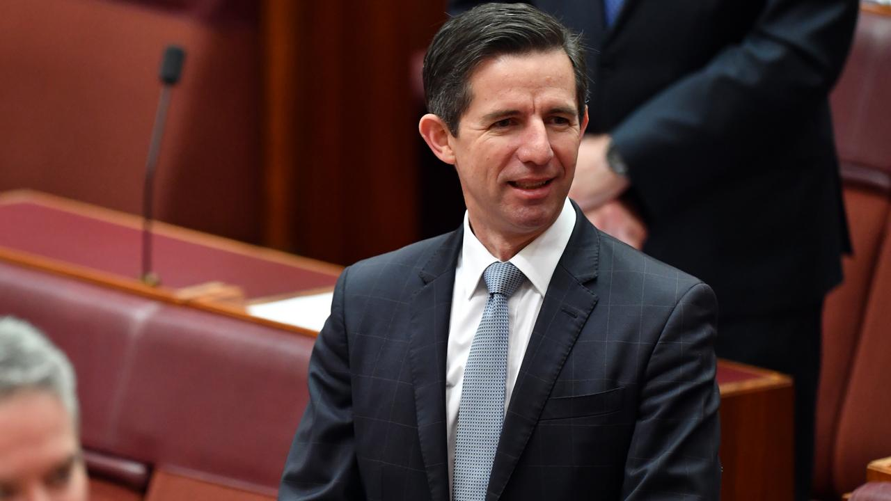 Tourism Minister Simon Birmingham. Photo: Getty Images.