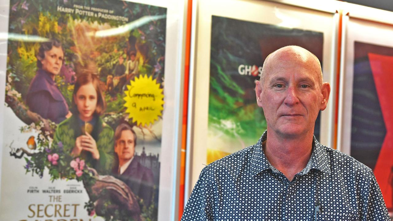 Paul McKeown from the Gympie Cinemas. Star Wars will be given three special showings this weekend.