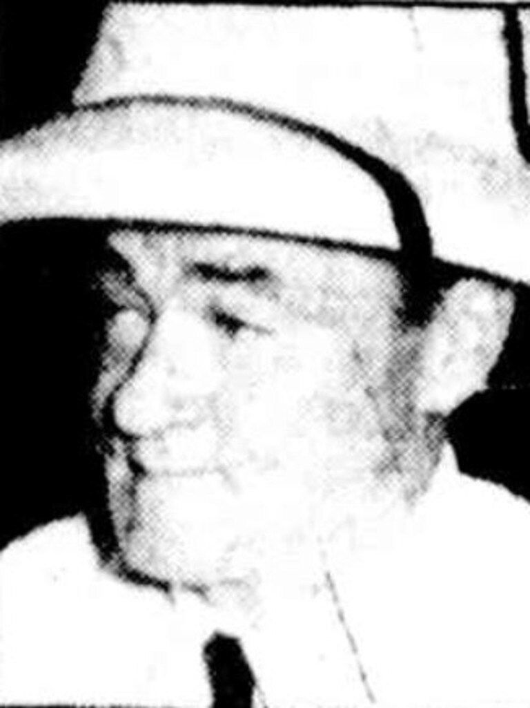 One of the last known photos of Frank Barnes.